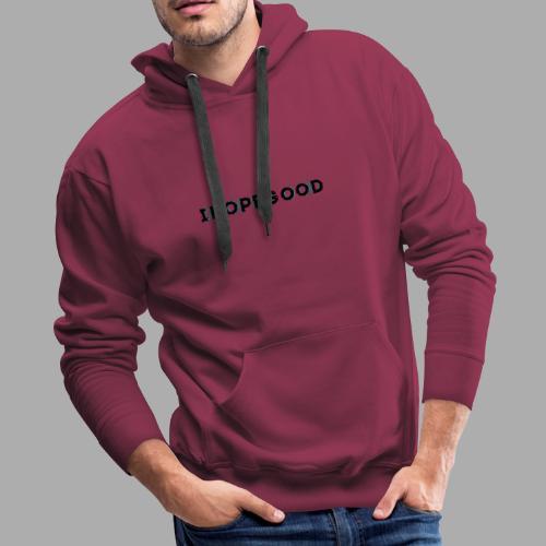IHopegood Glitch - Men's Premium Hoodie
