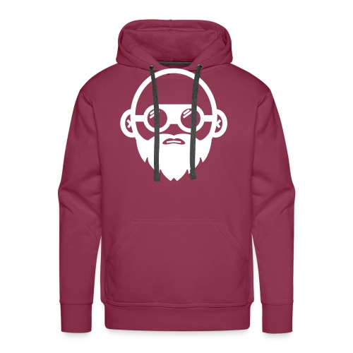 We Build Stuff - Floating Head (white) - Men's Premium Hoodie