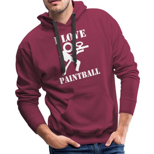 I Love Paintball 2019 - Men's Premium Hoodie
