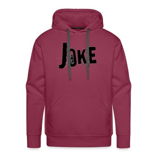 logo joke - Men's Premium Hoodie