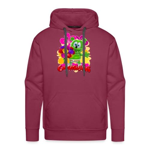 Gummibär Flowers - Men's Premium Hoodie
