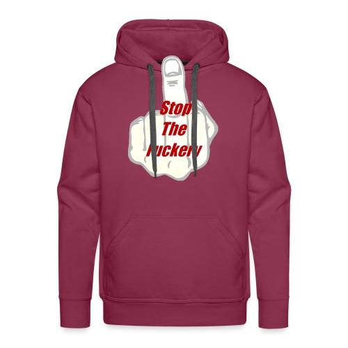 Men's V-Neck T-Shirt by Canvas - Men's Premium Hoodie