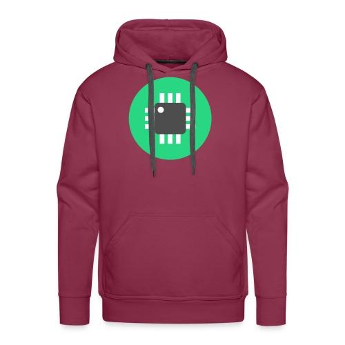 Logo-Only - Men's Premium Hoodie