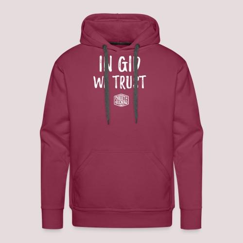 In Gid We Trust - Men's Premium Hoodie