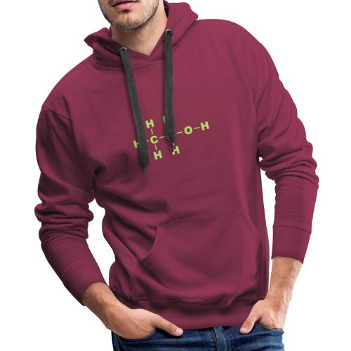 Alcohol Molecule - Men's Premium Hoodie