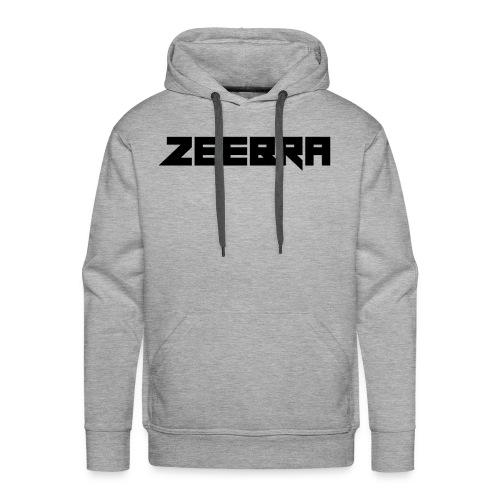 zeebra logo - Men's Premium Hoodie