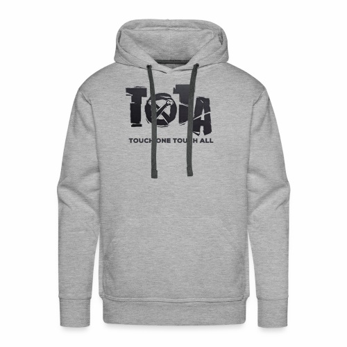 Touch One Touch All original logo - Men's Premium Hoodie