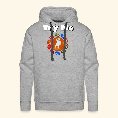 Try Me Limited Time Shirts - Men's Premium Hoodie