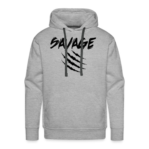 Savage Claw Mark - Men's Premium Hoodie