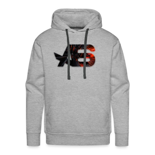 Official A6 Logo Black And Red - Men's Premium Hoodie