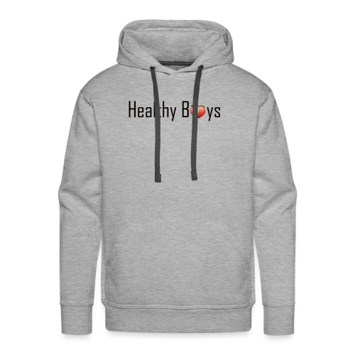 Healthy Boys Logo - Men's Premium Hoodie
