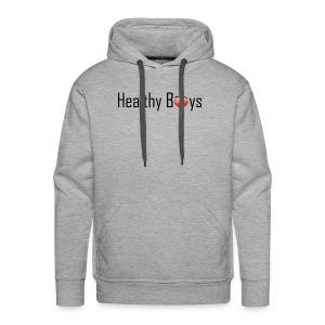 Healthy Boys Logo - Men's Premium Hoodie
