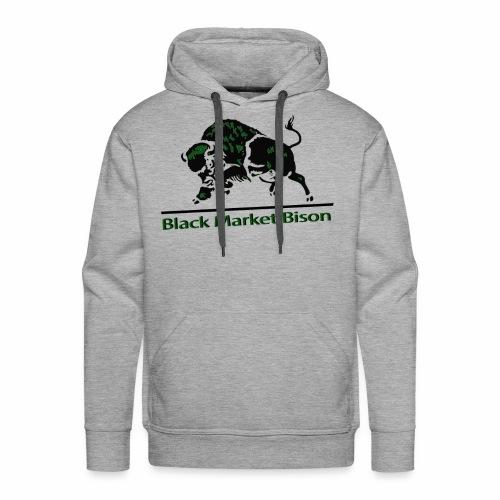 Black Market Bison - Men's Premium Hoodie