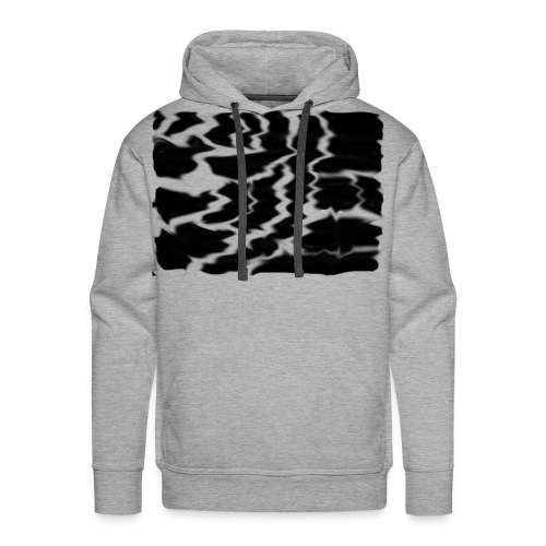 Black Smudge - Men's Premium Hoodie