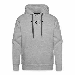 NBDY LOGO - Men's Premium Hoodie