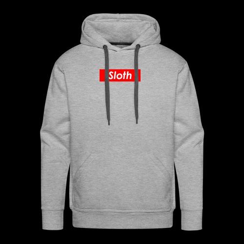 Sloth Box Logo - Men's Premium Hoodie