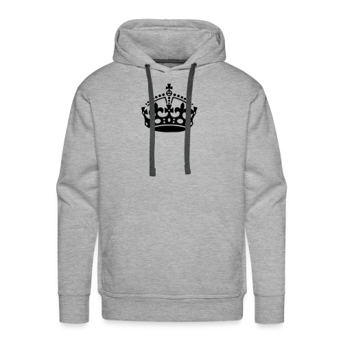 13625877091416650323keep calm crown hi - Men's Premium Hoodie
