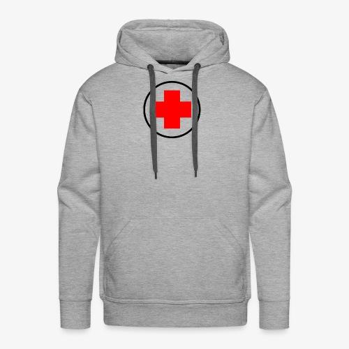 red cross - Men's Premium Hoodie