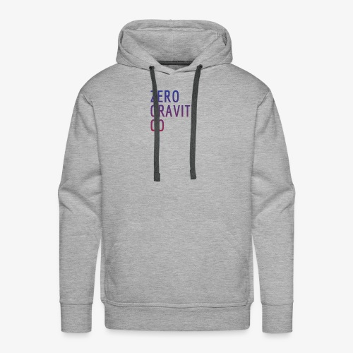 Zero Gravity Colorful Logo - Men's Premium Hoodie