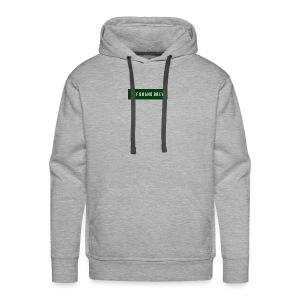 OFF BRAND BREW GREEN LOGO - Men's Premium Hoodie