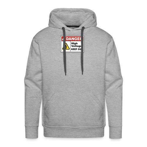 DANGER - Men's Premium Hoodie