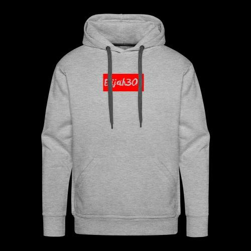 Elijah301DesignRED - Men's Premium Hoodie