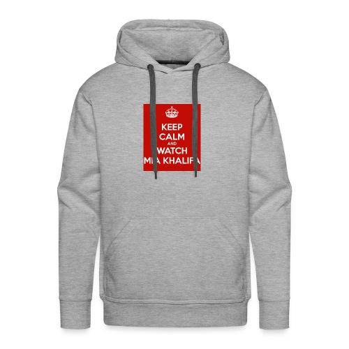 keep-calm-and-watch-mia-khalifa - Men's Premium Hoodie