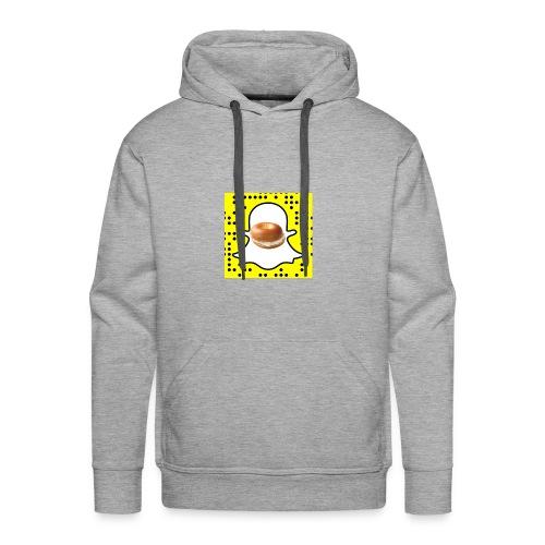 Bagel Snapchat Hoodie - Men's Premium Hoodie