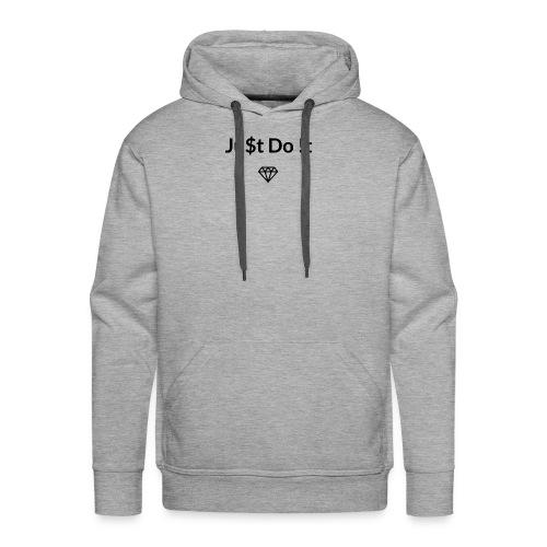 Ju$t Do !t logo - Men's Premium Hoodie
