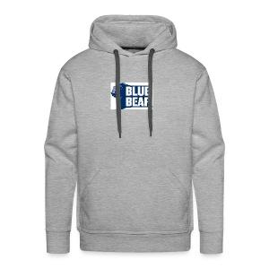 Blue Bear logo - Men's Premium Hoodie