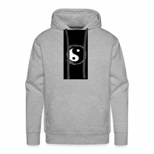 Diamond savage yin yang - Men's Premium Hoodie