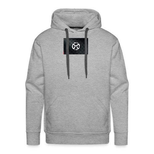 M logo - Men's Premium Hoodie