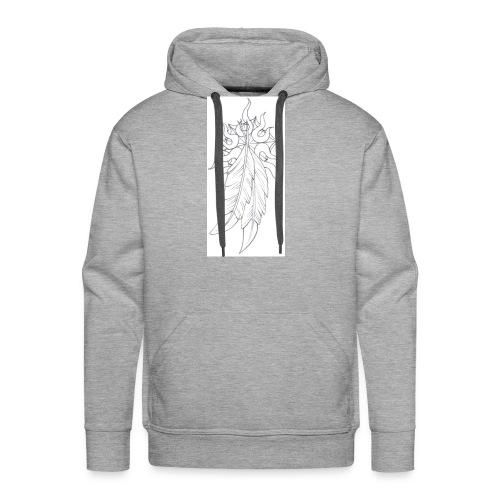 1indianfeather - Men's Premium Hoodie