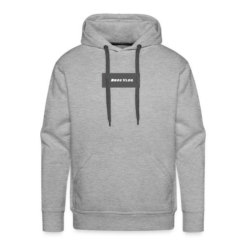 Black Backround - Men's Premium Hoodie
