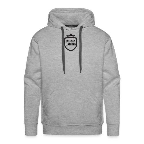 ARCSHOCK GAMING Small Logo T-shirt - Men's Premium Hoodie
