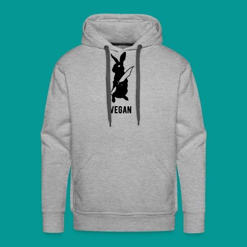 Revenge of the Rabbits Vegan AF - Men's Premium Hoodie