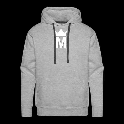 White Majesty Logo - Men's Premium Hoodie
