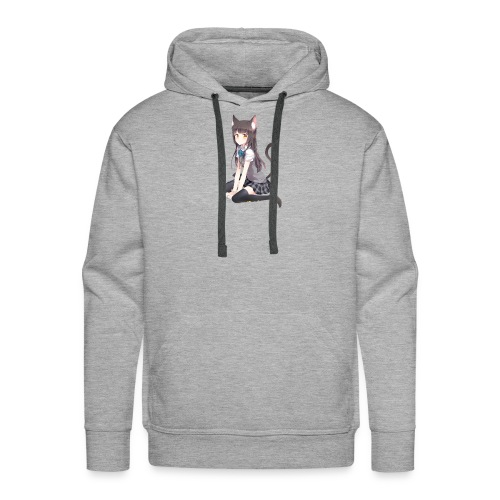 Anime Cat Lady - Men's Premium Hoodie