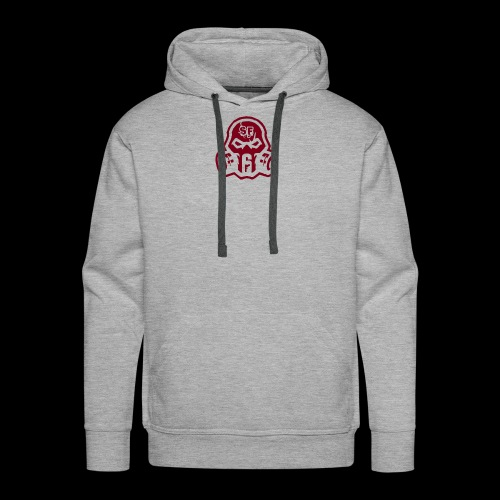 Dark Red - Men's Premium Hoodie