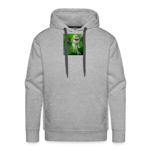 Capture 2017 12 08 17 31 39 1 green frog - Men's Premium Hoodie
