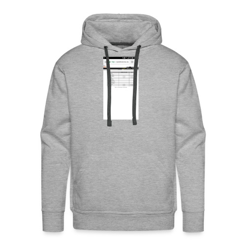 Good time for back school - Men's Premium Hoodie