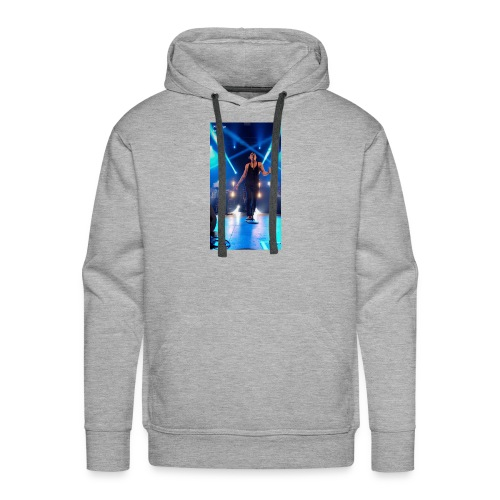 William singe on stage - Men's Premium Hoodie