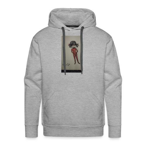 Anime lady bug design - Men's Premium Hoodie