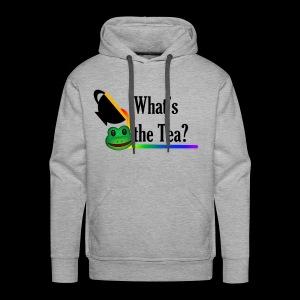 WHAT'S THE TEA? - Men's Premium Hoodie