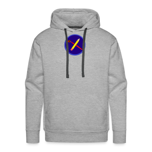 creative playing logo - Men's Premium Hoodie