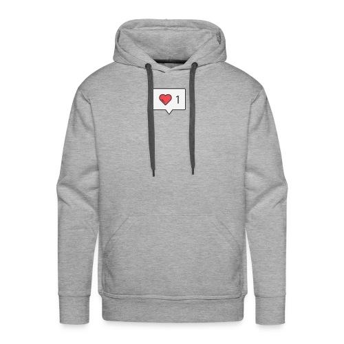 1 love - Men's Premium Hoodie
