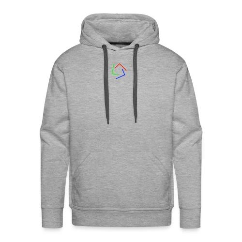 Ultra Cynet 3 Color L Logo No Text - Men's Premium Hoodie