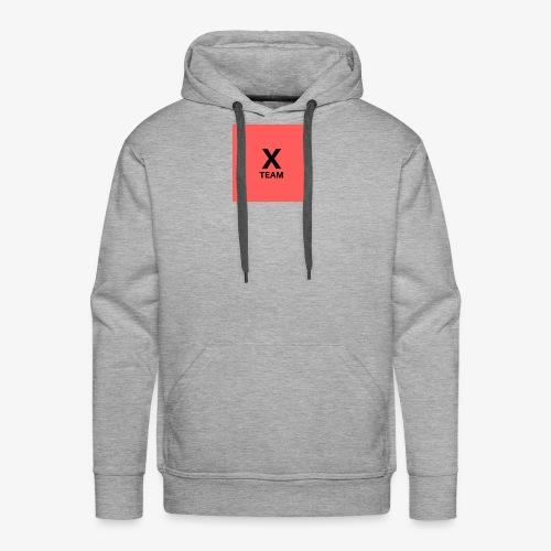 X Team 'Red' - Men's Premium Hoodie
