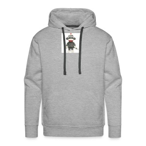 Sock Monkey - Men's Premium Hoodie