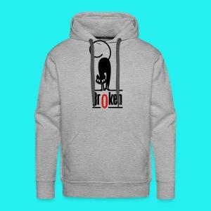 Br0ken Logo - Men's Premium Hoodie